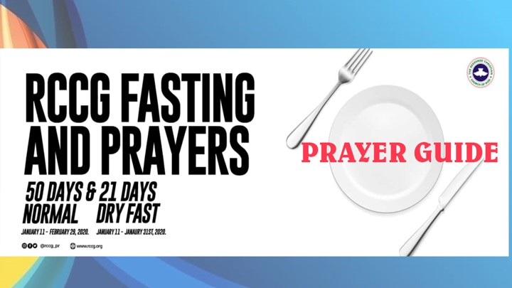 Fifty Days Fasting and Prayer Guide - January & February, 2020