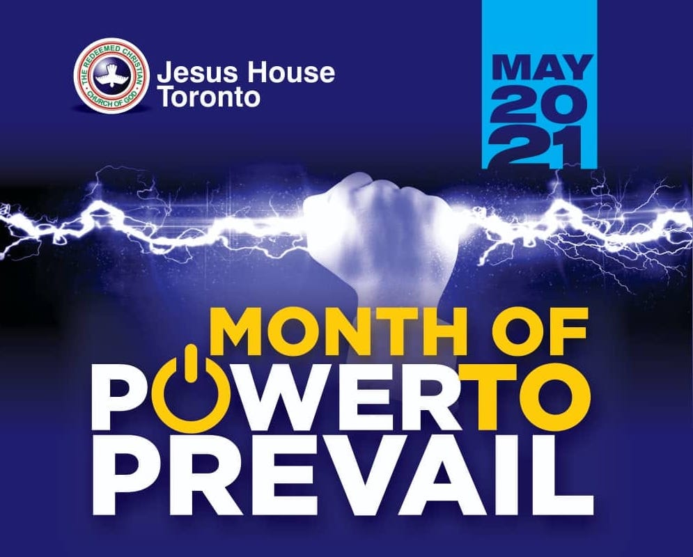 May 2021 - Month of Power to Prevail