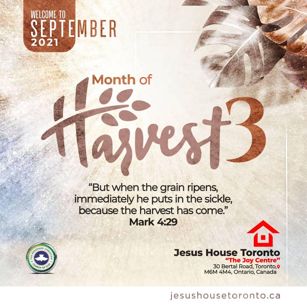 Month of Harvest